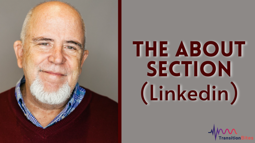 The About Section – Linkedin